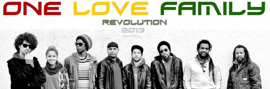 revolution é o novo disco dos one love family mip música