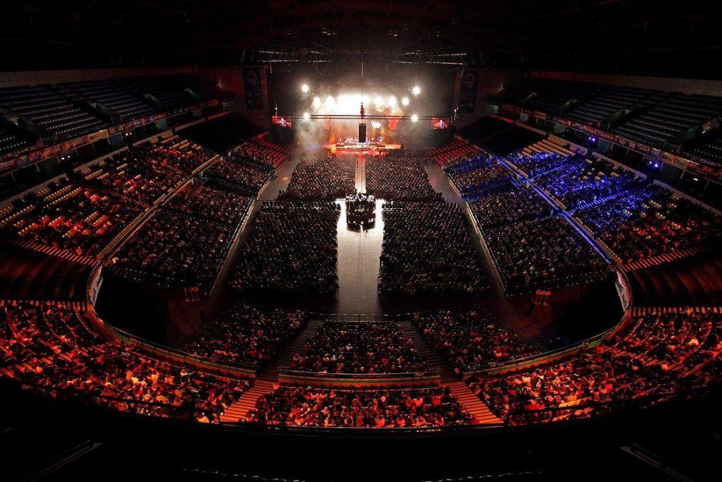 Foto retirada do facebook do Meo Arena