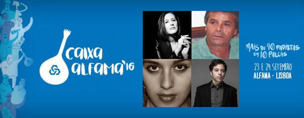 ALDINA DUARTE, ARTUR BATALHA, MARCO OLIVEIRA E SARA CORREIA - CAIXA ALFAMA 2016 cartaz