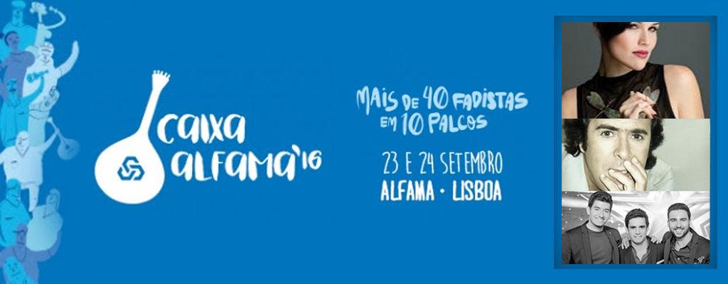 Caixa Alfama - festival fado - Fábia Rebordão e Sangre Ibérico & José Gonçalez