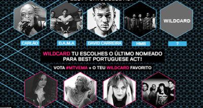 Carlão, DAMA, David Carreira, HMB - Best Portuguese Act