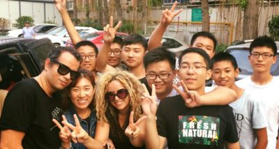 Banda Ménage conquistou a China