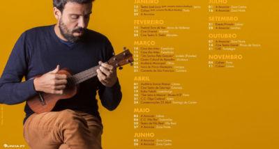 Miguel Araújo - concertos 2017
