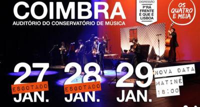 Os Quatro e Meia - Coimbra