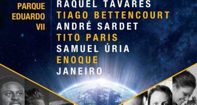 Cartaz Hora do Planeta - Parque Eduardo VII