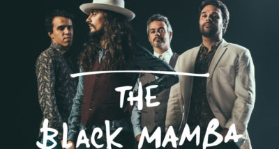 The Black Mamba - Coliseu dos Recreios - cartaz