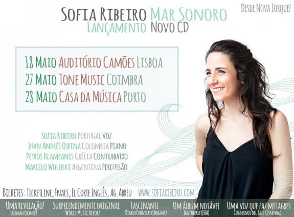 Sofia Ribeiro - Mar Sonoro - jazz