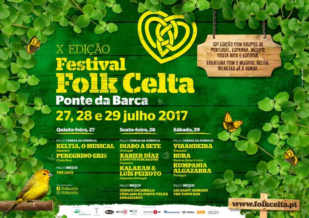 Cartaz Folk Celta 10ª Edição 2017