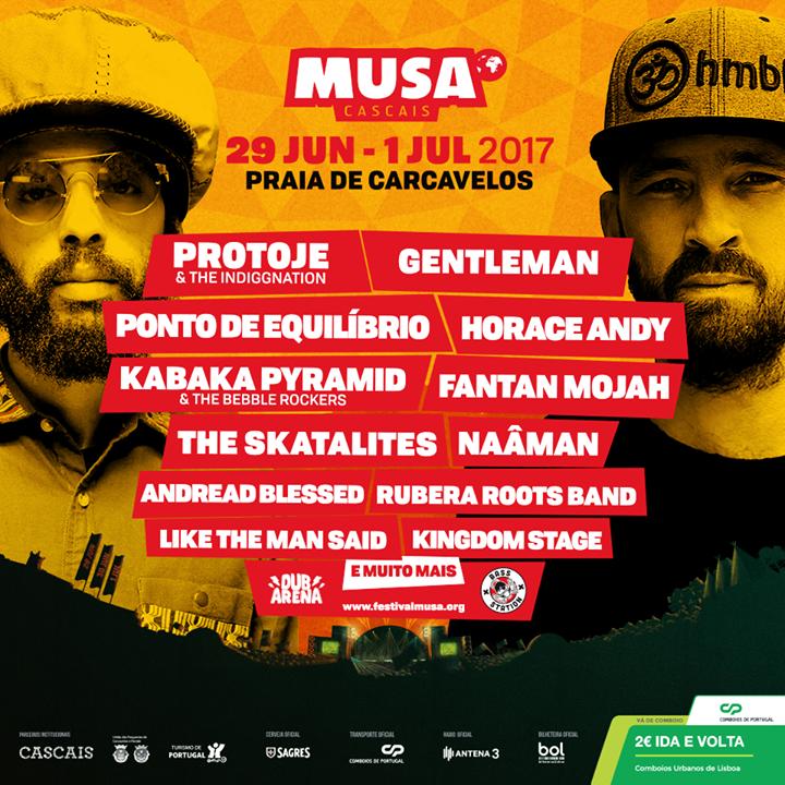 Cartaz Festival Musa Cascais 2017