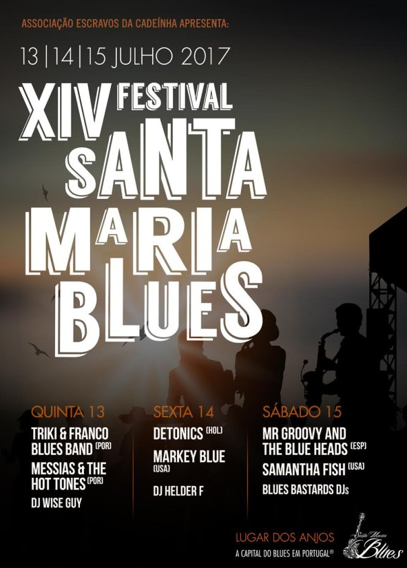 Festival Santa Maria Blues Cartaz 2017
