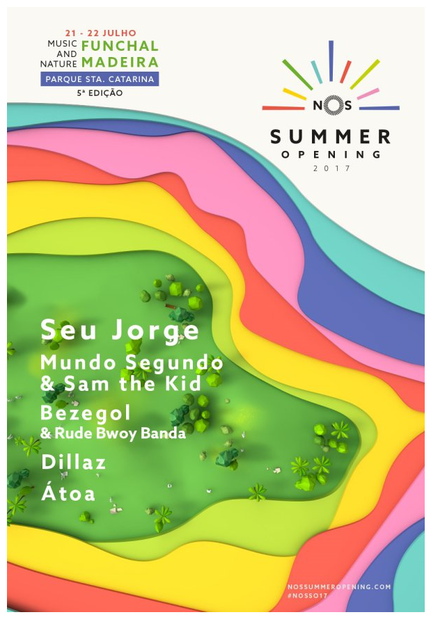 Cartaz NOS Summer Opening 2017