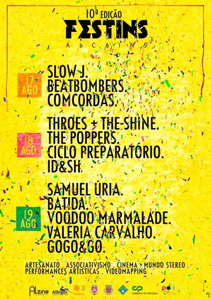 Cartaz Festival FESTINS 2017