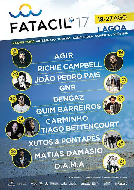 Cartaz Fatacil 2017 Lagoa Algarve