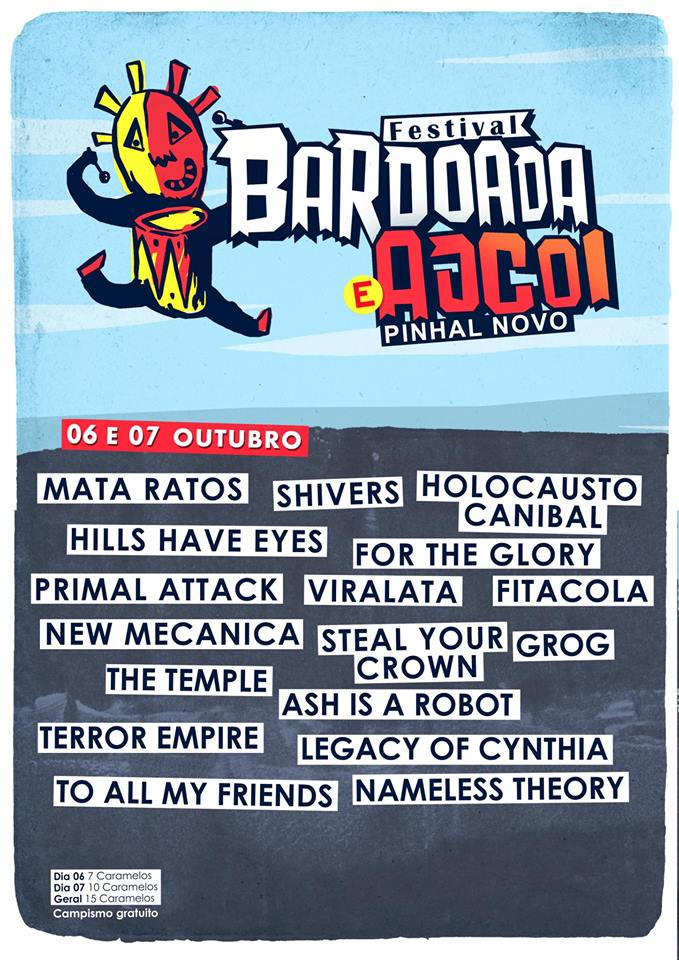 Cartaz Festival Bardoada e Ajcoi 2017