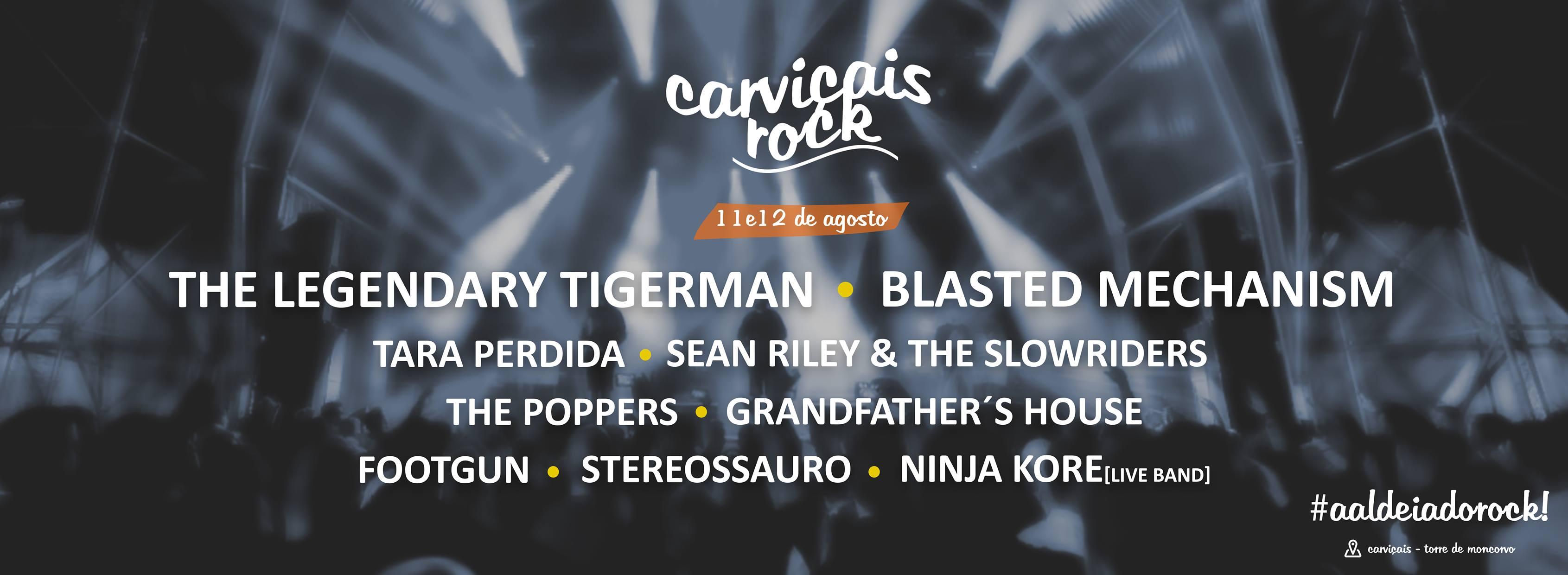 Cartaz Festival Carviçais Rock 2017