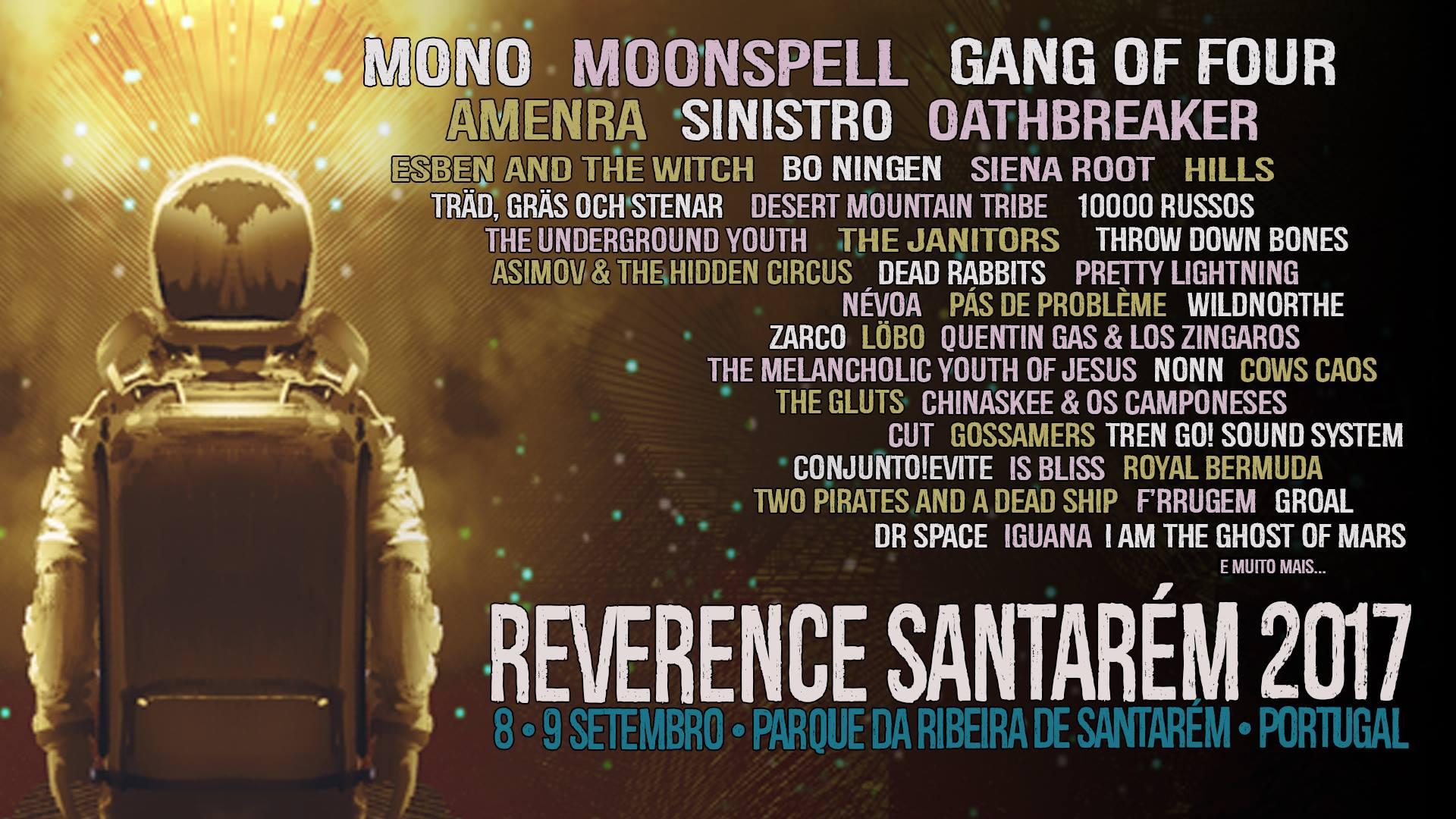 Cartaz Reverence Santarém 2017