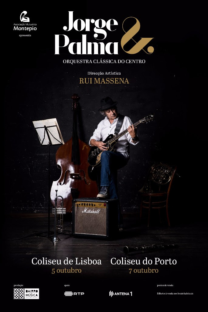 Jorge Palma & Orquestra Clássica do Centro nos Coliseus