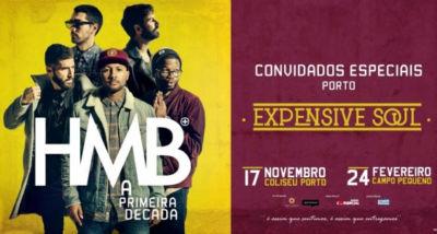 HMB - Expensive Soul - Coliseu do Porto