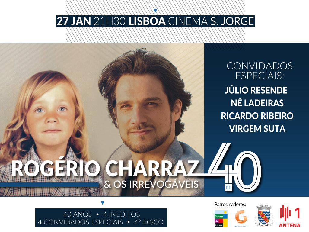 Rogério Charraz cantautor - concerto