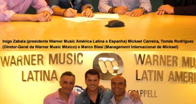 Mickael Carreira rumo à internacionalização   MIP Música