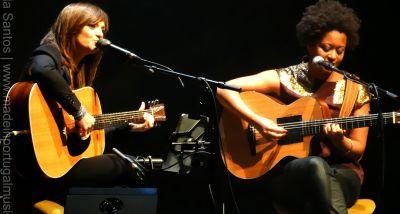 Mafalda Veiga e Sara Tavares