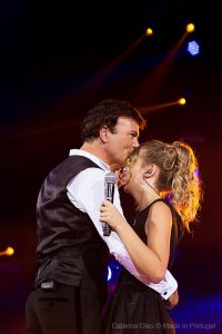 Tony Carreira e filha