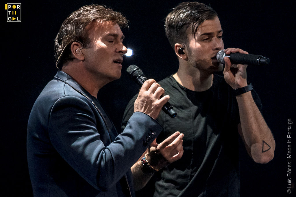 Tony Carreira e David Carreira