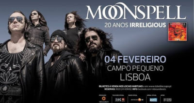 Moonspell - DVD - Campo Pequeno