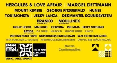 Cartaz Lisboa Dance Festival 2017