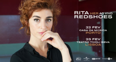 Rita Redshoes na Casa da Música e Tivoli