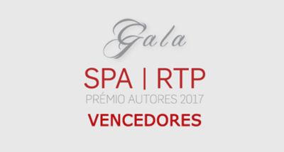 PRÉMIO AUTORES 2017 VENCEDORES