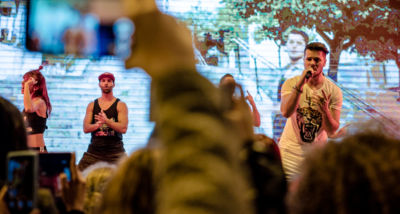 Mickael Carreira - Yayaya - showcase - fãs