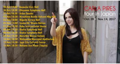 fadista Carla Pires - japão tour