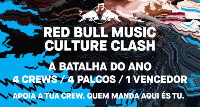 A maior batalha, o Red Bull Music Culture Clash