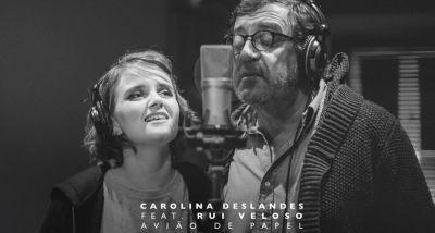 Carolina Deslandes - Avião de Papel - Rui Veloso - Diogo Clemente