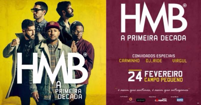 HMB - Carminho - DJ Ride - Virgul - Campo Pequeno