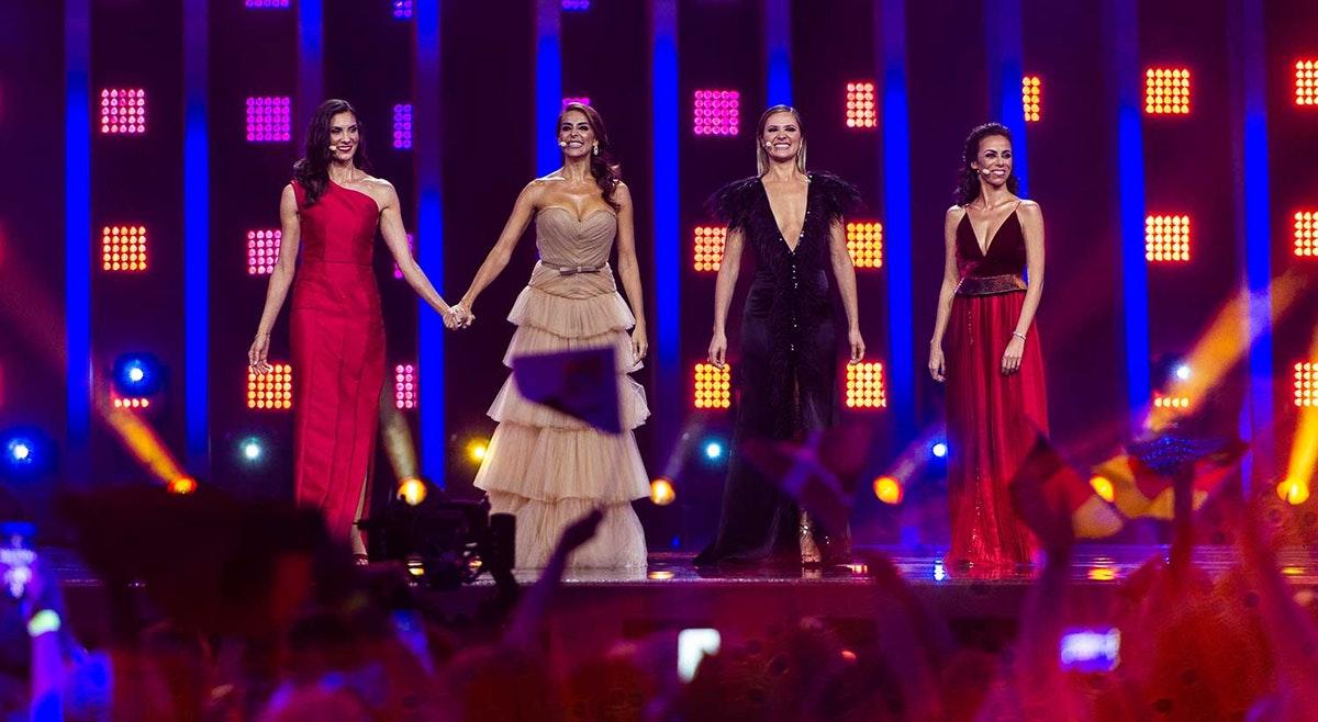 Eurovisão - apresentadoras - rtp -
