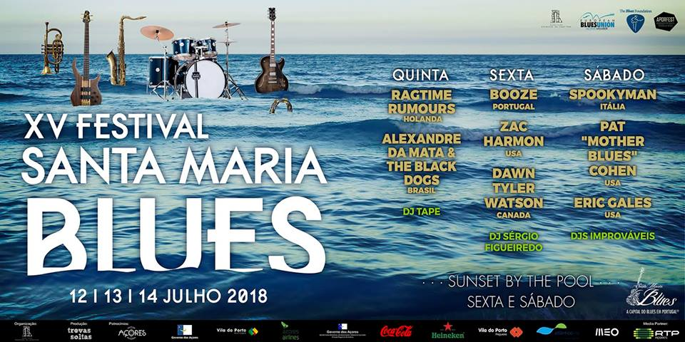Cartaz Festival Santa Maria Blues 2018