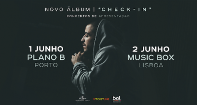 Valas - Check In - concertos ao vivo