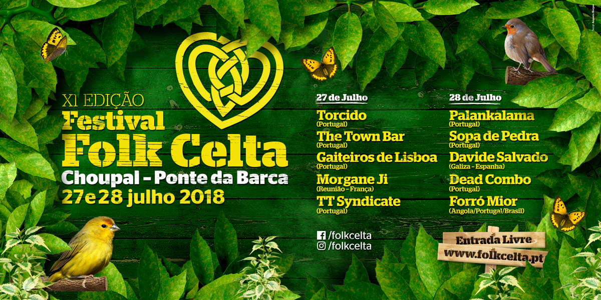 Cartaz Festival Folk Celta 2018