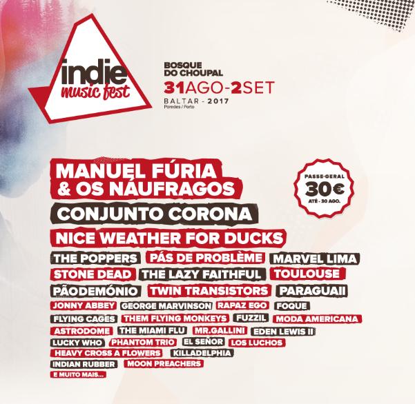 Cartaz Indie Music Fest 2018