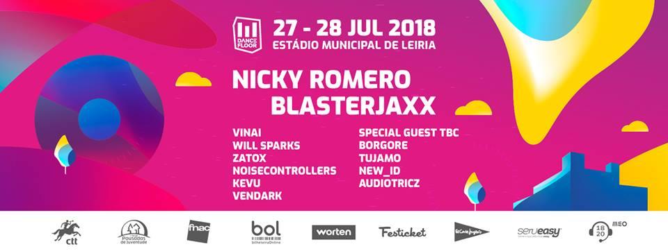 Cartaz Dancefloor Leiria 2018