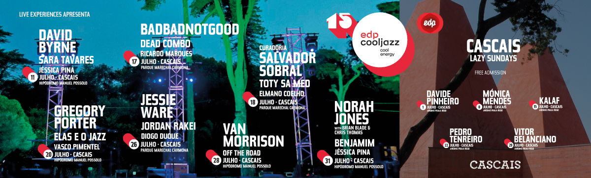 Cartaz EDP COOLJAZZ 2018