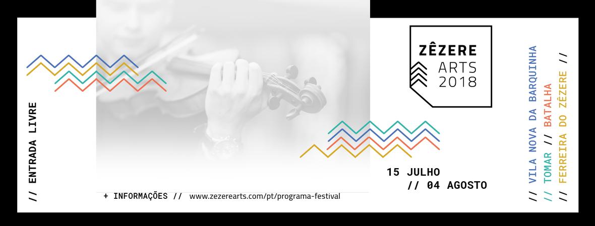 Cartaz Festival ZêzereArts 2018