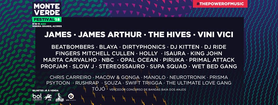 Cartaz Monte Verde Festival 2018