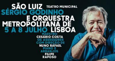 Sérgio Godinho - Orquestra Metropolitana de Lisboa - São Luiz