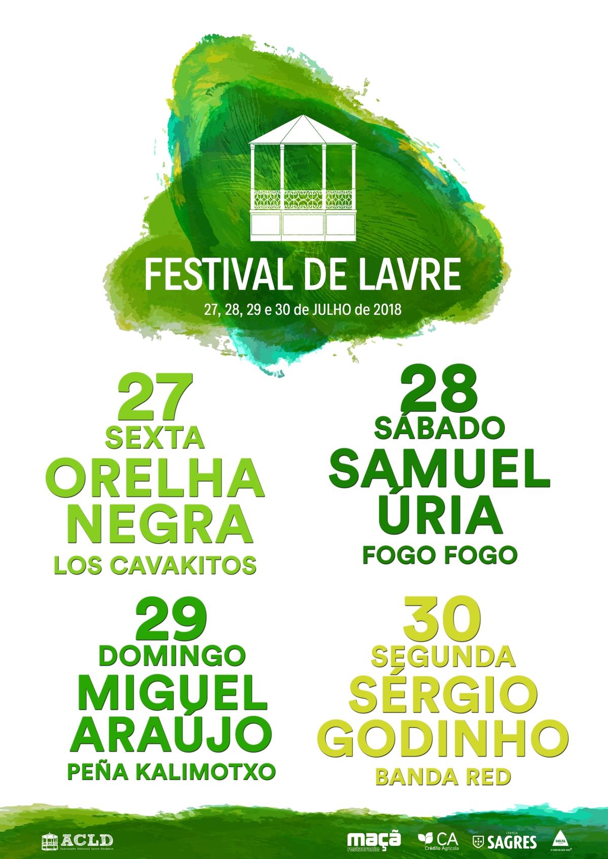 Cartaz 2018 - Festival de Lavre