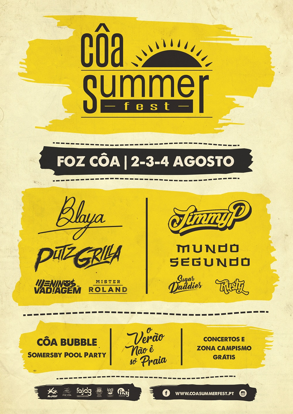 Cartaz 2018 Côa Summer Fest