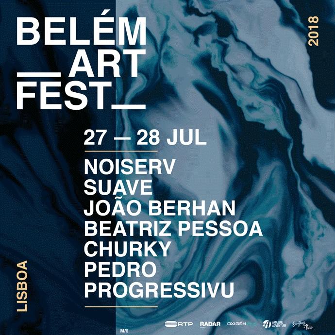 Cartaz Belém Art Fest 2018