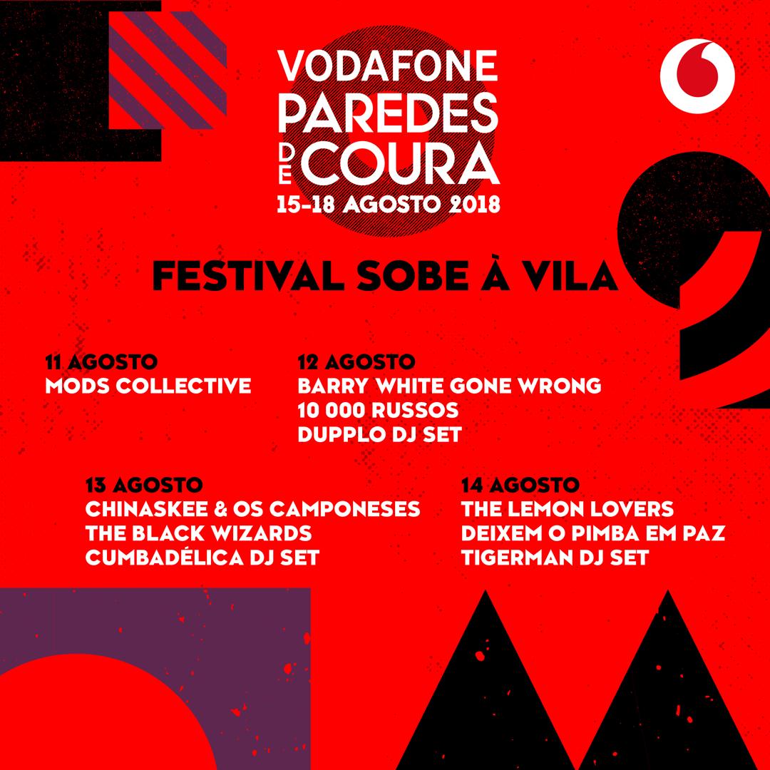 Vodafone Paredes de Coura Sobe à Vila